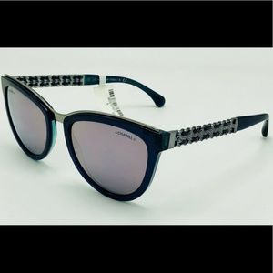 New Oil Slick Purple CHANEL Sunglasses 5361-Q